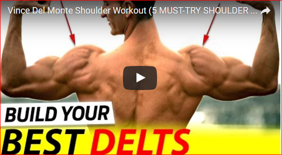 Vince Del Monte Shoulder Workout – 5 Must-Try Exercises!