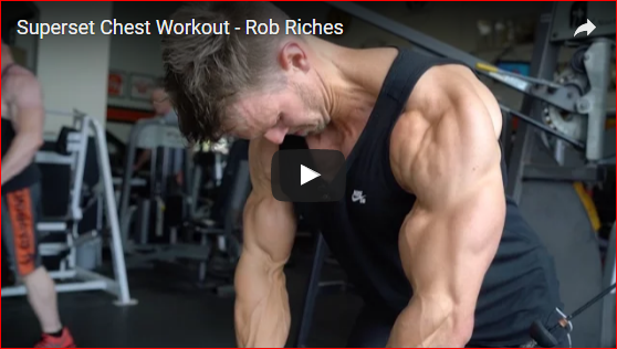 Rob Riches Shows How to Get a Massive Chest Like His