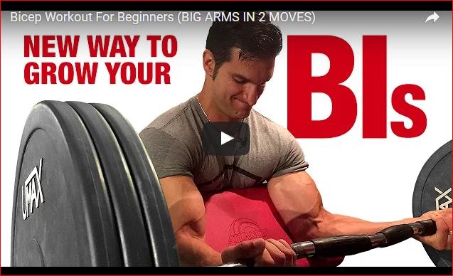 A Beginner's Bicep Workout Using Descending Sets